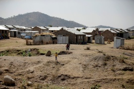 A file picture of Hitsats refugee camp in Ethiopia's Tigray region [File: Tiksa Negeri/Reuters]
