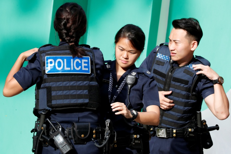 The 16-year-old, a Protestant Christian, was detained in December under Singapore's Internal Security Act [File: Edgar Su/Reuters]