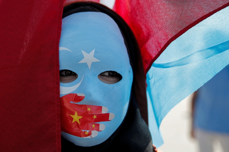 At least one million Uighurs have been detained in internment camps in China's northwest Xinjiang province, according to the United Nations [File: Huseyin Aldemir/Reuters]