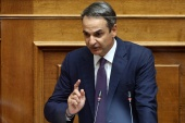 Prime Minister Kyriakos Mitsotakis says Greece's discussions with Turkey were expected to resume at the point where they were interrupted in 2016 [File: Costas Baltas/Reuters]
