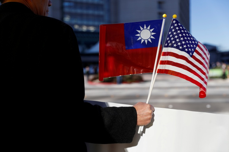 Taiwan says the US decision to remove restrictions on diplomatic interactions is a 'big thing' [File: Stephen Lam/Reuters]