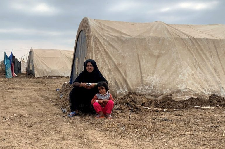 Aid groups and international agencies have warned that the shutdown of the camp could leave hundreds without food and shelter in the middle of the coronavirus pandemic and harsh winter [File: Amina Ismail/Reuters]