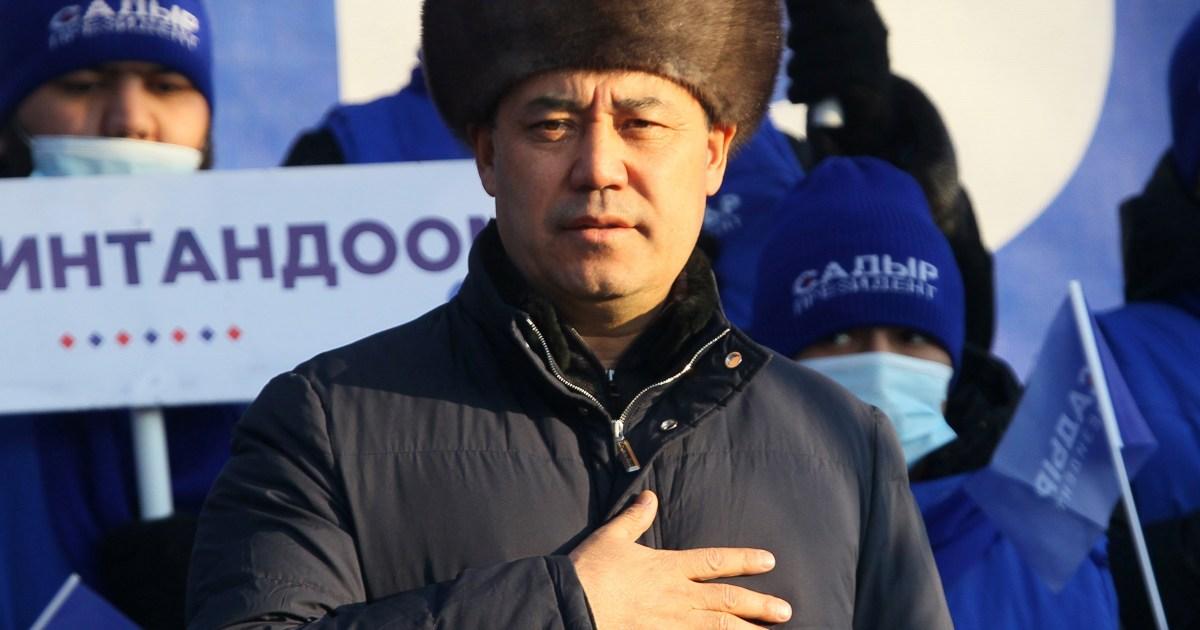 Japarov on course for landslide victory in Kyrgyzstan election