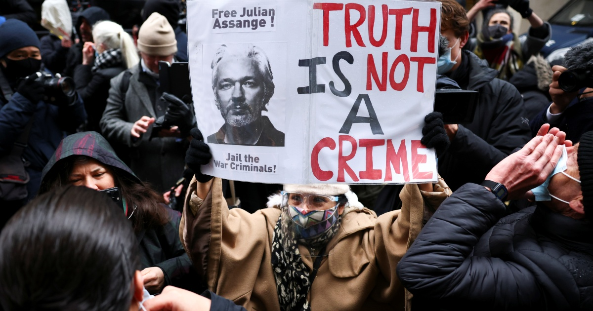 Assange vs the violence of imperial 'humanitarianism' thumbnail