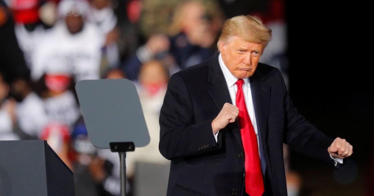 Trump in last-ditch bid to maintain Senate underneath Republican management
