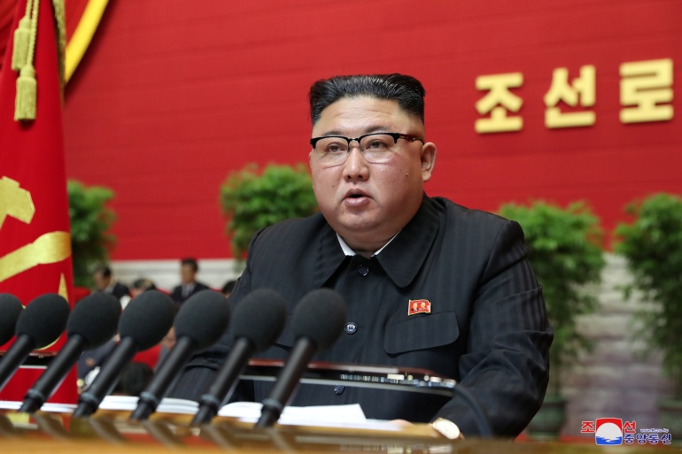 Pertemuan di Pyongyang adalah yang pertama dari jenisnya dalam lima tahun, hanya yang kedelapan dalam sejarah negara bersenjata nuklir itu, dan dilakukan beberapa minggu sebelum Presiden terpilih AS Joe Biden menjabat [KCNA via Reuters]