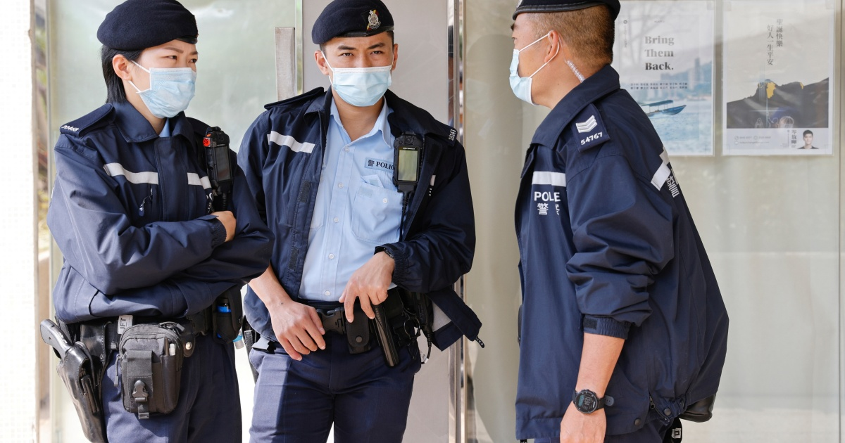 Hong Kong police detain 11 for allegedly helping activists escape