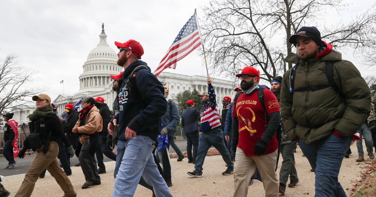 Proud Boys members charged with conspiracy in US Capitol riot