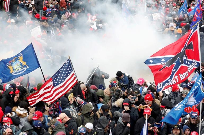Inauguration Day: ट्रम्प की वजह से हो सकता है गृह युद्ध, इन घटनाओ की वजह से पहले भी बिखरा है अमेरिका 3