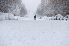 Madrid experienced its heaviest snowfalls since 1971 [Sergio Perez/Reuters]