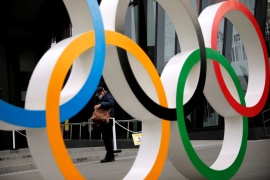 Japan's mass vaccination programme may conclude before the Olympics start, but doubts over the event are growing [File: Issei Kato/Reuters]