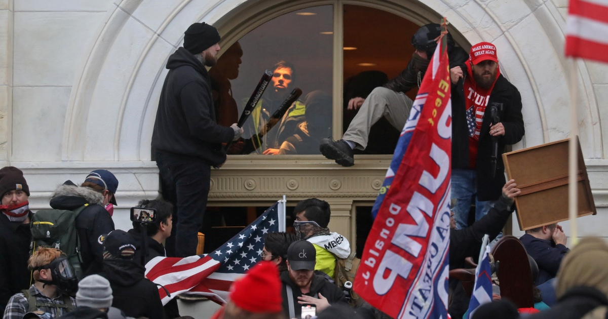 US officials say 70 charged in Capitol riot 'just the beginning' thumbnail