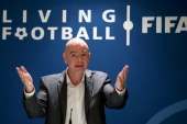 The statement signed by FIFA's President Gianni Infantino was a response to what it called 'recent media speculation' about a breakaway by some of the world's richest football clubs [File: Arnd Wiegmann/Reuters]