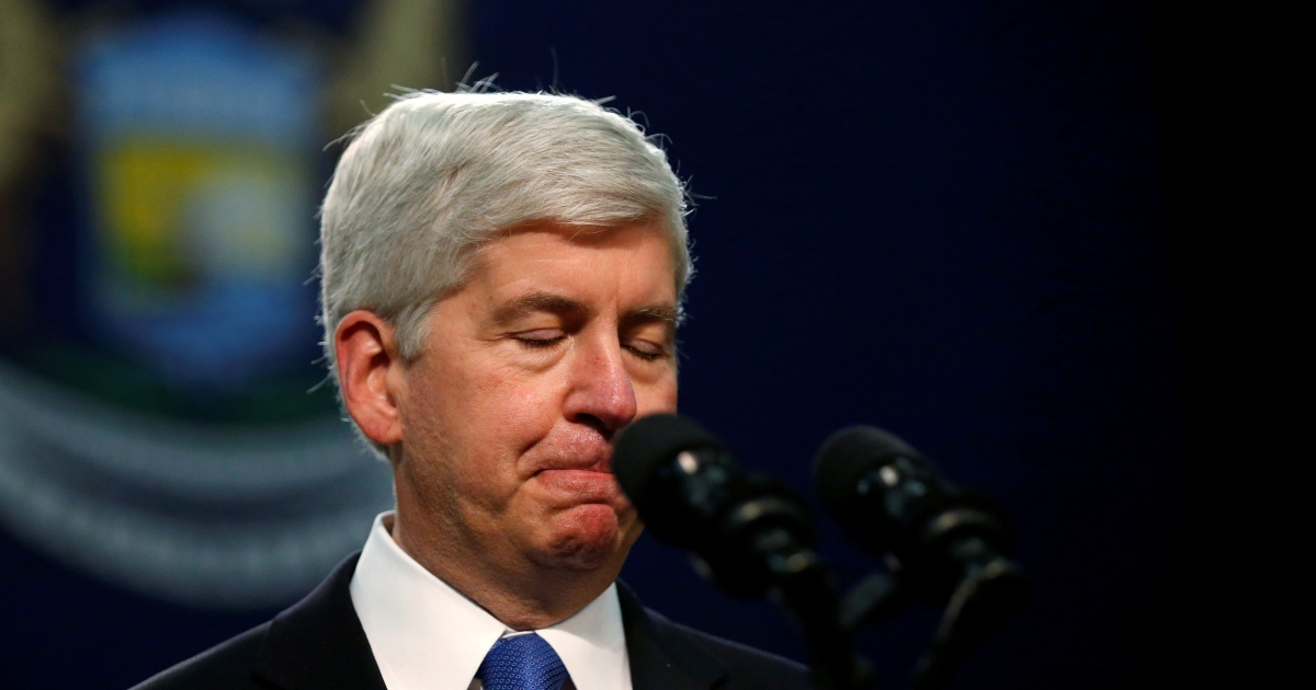 Ex-Michigan Governor Rick Snyder charged over Flint water crisis | Environment News