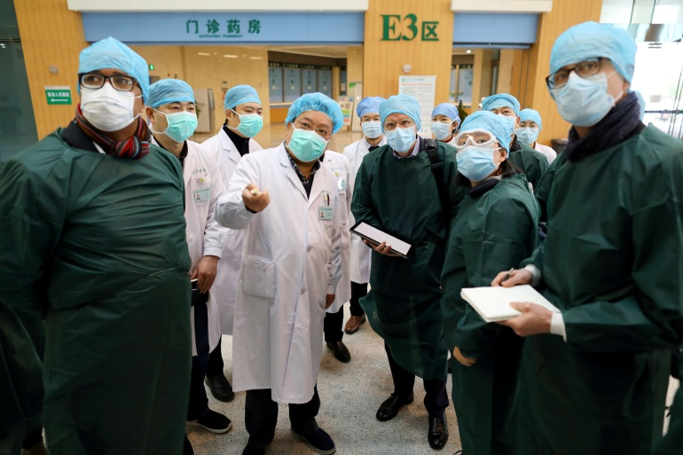 The WHO team had requested raw patient data on 174 cases that China had identified from the early phase of the outbreak in the city of Wuhan in December 2019 [Reuters]