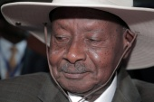 At 76 - though some opponents say he is older - Museveni says he is fighting fit [File: Reuters]