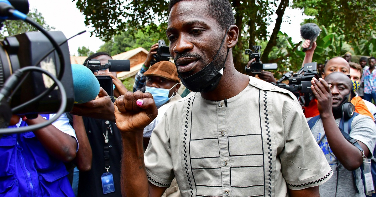 Uganda: Bobi Wine says election marred by 'fraud, violence'
