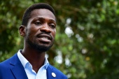According to the election commission, Bobi Wine secured just 34.8 percent of the vote [File: Abubaker Lubowa/Reuters]