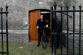 Rutte, 53, resigned along with his cabinet over a dispute that saw thousands of families wrongly accused of child benefit fraud [Piroschka van de Wouw/Reuters]