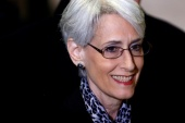 Wendy Sherman served as under secretary of state for political affairs for four years during President Barack Obama's administration [File: Denis Balibouse/Reuters]