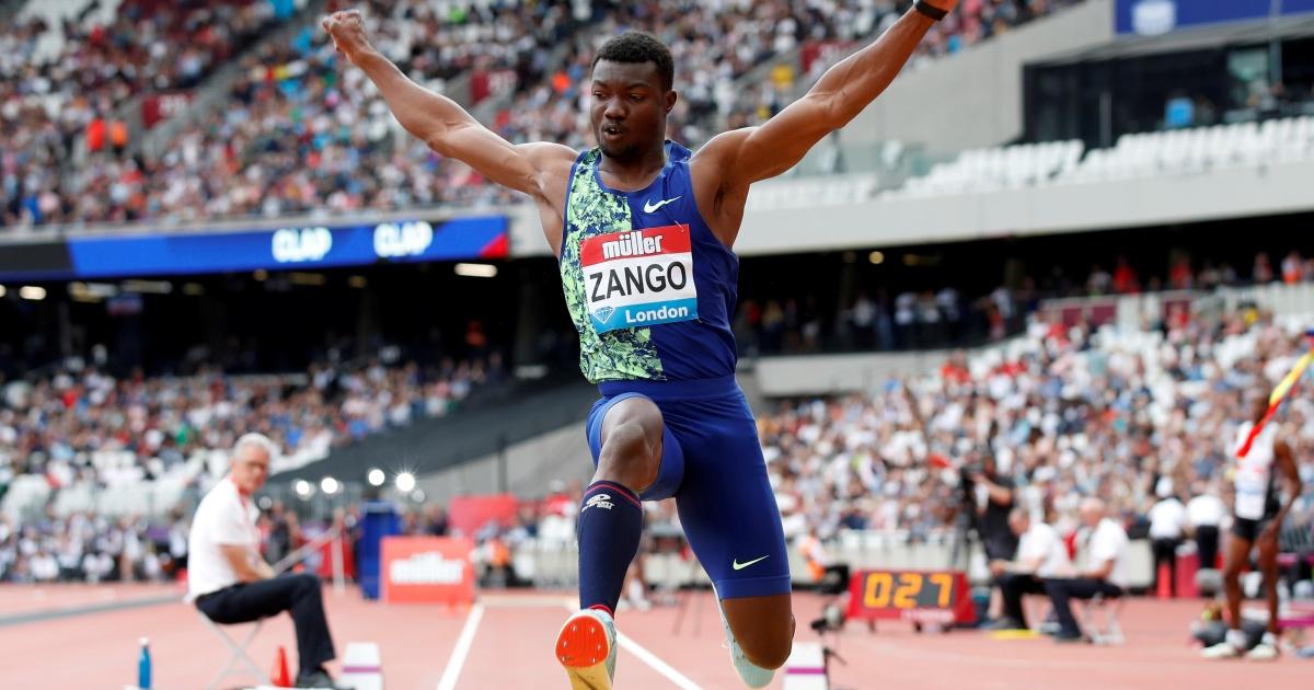 Zango leaps into record books with world indoor triple jump mark thumbnail
