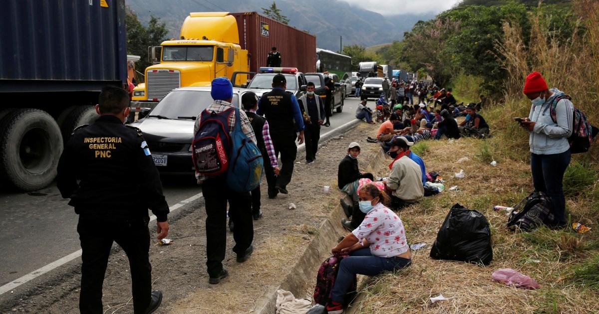 Hondurans remain hopeful as Guatemala cracks down on caravan thumbnail
