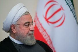 Iranian President Hassan Rouhani said his administration will do its best to negotiate the lifting of US sanctions on Iran [File: Alexei Druzhinin/Reuters]
