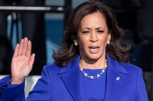 Harris was born to immigrants to the United States - her father from Jamaica and mother from India [Reuters]