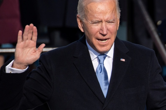 Republicans in the US Congress have indicated they are willing to work with newly sworn-in President Joe Biden on his $1.9 trillion US fiscal stimulus plan [Saul Loeb/Pool via Reuters]