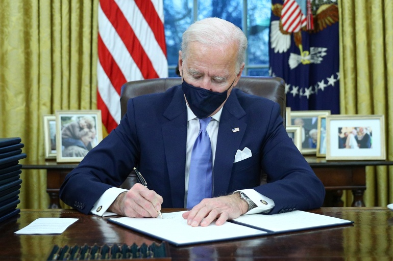 Biden moves to reverse Trump policies | US & Canada  News | Al Jazeera