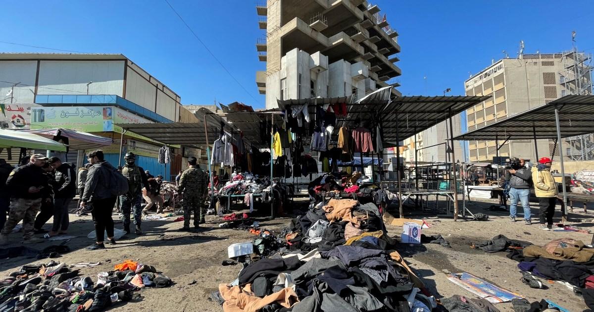 ISIL bertanggung jawab atas pemboman bunuh diri Baghdad yang mematikan thumbnail