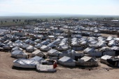 A view of al-Hol displacement camp in Hasakah governorate, Syria [File: Ali Hashisho/Reuters]