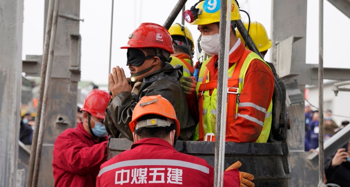 China: Bodies of nine gold mine workers recovered