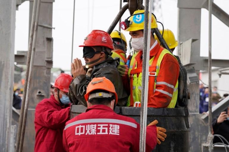 China Bodies Of Nine Gold Mine Workers Recovered China News Al Jazeera