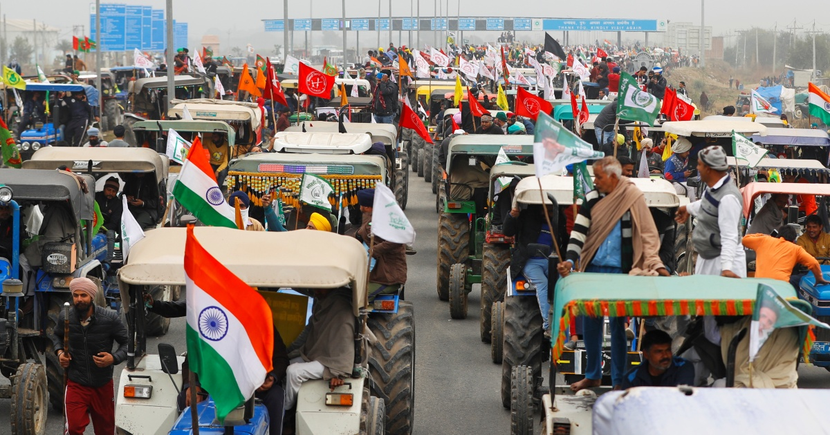 Indian police to let farmers hold 'tractor rally' on Republic Day - aljazeera
