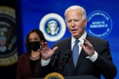 United States President Joe Biden has used a series of executive actions to undo former President Donald Trump's environmental policies as part of his plan to tackle climate change [File: Kevin Lamarque/Reuters]