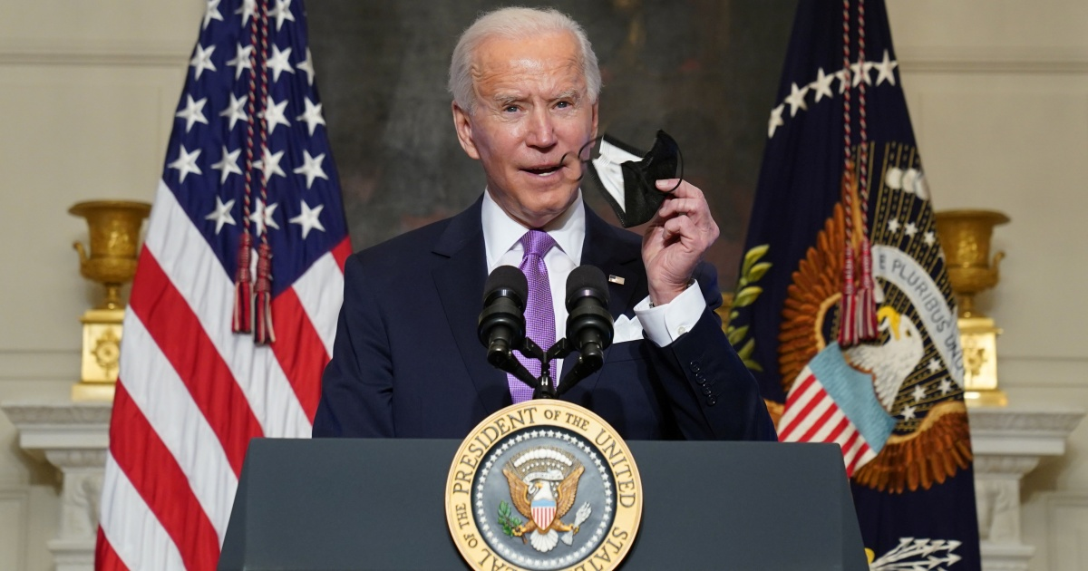 Biden says US to buy 200 million more COVID vaccine doses