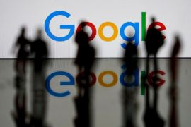 The Alphabet Workers Union said it plans to take on issues including compensation, employee classification and the kinds of work Google engages in [File: Kenzo Tribouillard/AFP/Getty Images]