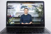 Jack Ma, co-founder of Chinese e-e-commerce giant Alibaba appeared in this live-streamed address to teachers at an annual event he hosts to recognise rural educators. Ma has resurfaced after months out of public view fuelling intense speculation about the plight of the billionaire who is grappling with mounting scrutiny over his internet empire [Justin Chin/Bloomberg]