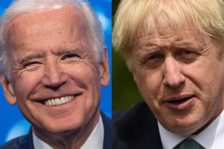 Reaching a new trade accord with the US now that the UK has left the European Union is a top priority for British Prime Minister Boris Johnson [File: Bloomberg]
