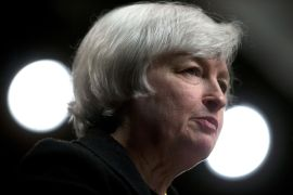 Treasury secretary is the latest role in Janet Yellen's trailblazing career [File: Andrew Harrer/Bloomberg]