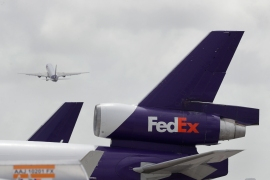 FedEx hoped its acquisition of Dutch rival TNT would help it take advantage of the growth in online shopping in Europe, but the merger has not gone smoothly [File: Wilfredo Lee/AP Photo]