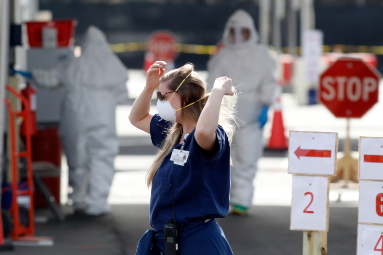 The two cases don't appear to be connected, nor do the people have a history of recent travel, the South Carolina Department of Health and Environmental Control said [File: Mic Smith/AP]