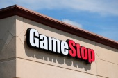 GameStop's meteoric surge since January 12 has captivated Wall Street and spurred calls for a US Securities and Exchange Commission investigation, though legal experts say it's difficult to prove chat-room posts are part of an illicit scheme to manipulate the market (AP Photo/Jeff Roberson)