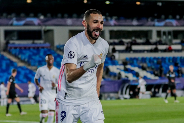 The 33-year-old Benzema has been banned from the national team since November 2015 because of his suspected involvement in the scandal [File: Bernat Armangue/AP]
