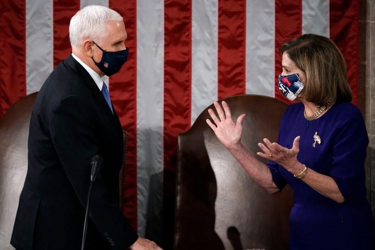 US Congress certifies Joe Biden as next president, Harris as VP