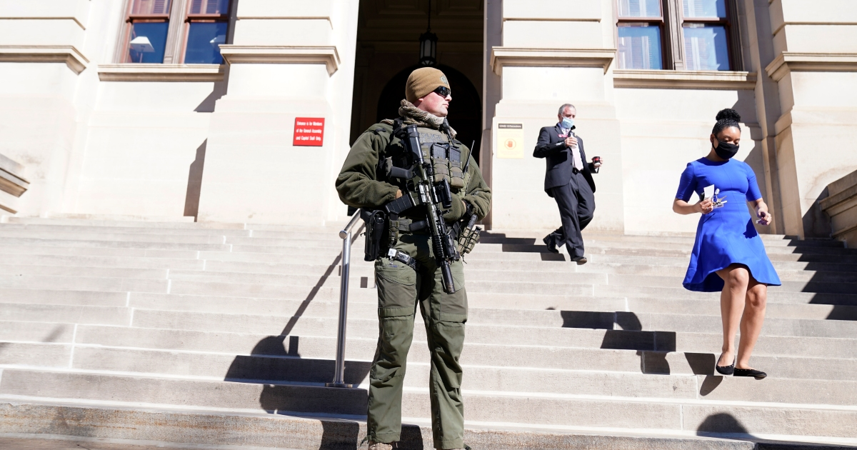 US states brace for potential violence before Biden inauguration thumbnail
