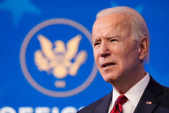 Joe Biden takes office on Wednesday with a promise to overturn on 'day one' the so-called Muslim Ban - the executive order that outgoing President Donald Trump put in place restricting citizens from several Muslim-majority countries from entering the United States [Matt Slocum/AP Photo]