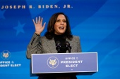 Vice President-elect Kamala Harris will be closely watched as a possible successor to President-elect Joe Biden [File: Matt Slocum/The Associated Press]
