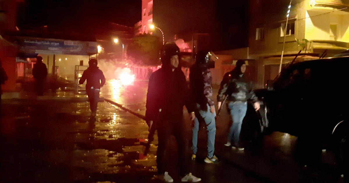 Tunisia arrests dozens as protests break out for second night thumbnail